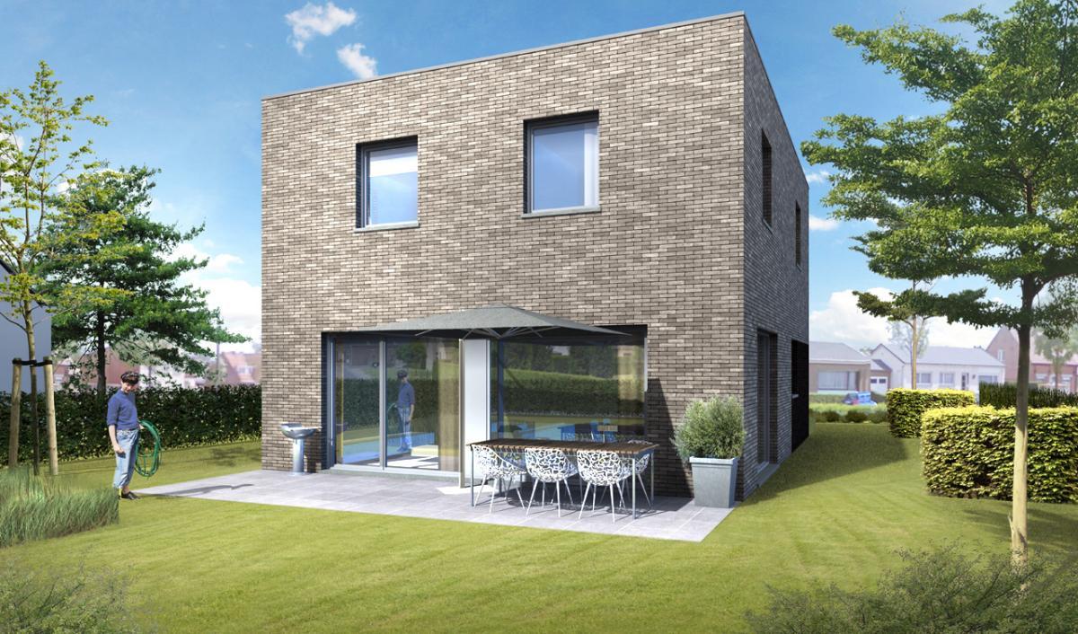 Immo gryson torhout koekelare woning moderne for Landelijke woning te koop